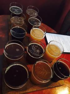 Beer tasting fun!